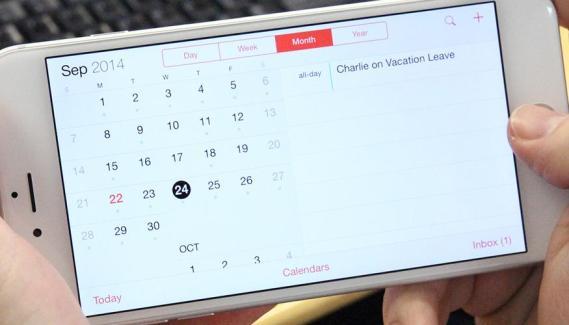 Cómo visualizar números de la semana en el Calendario del iPhone