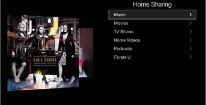 Apple home-sharing