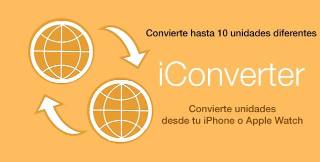 iConverter, un conversor para iPhone y para el Apple Watch