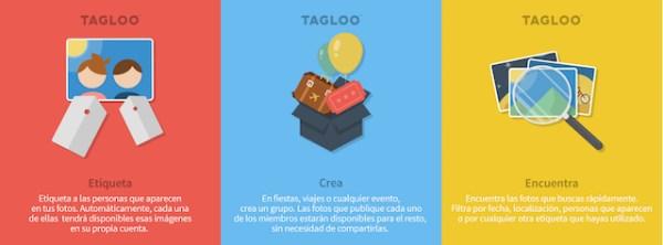 3 caracteristicas principales Tagloo