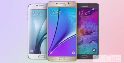 Samsung Galaxy Note 5 vs Note 4 vs Galaxy S6