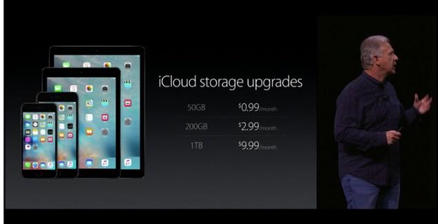 iCloud baja de precio los planes de almacenamiento