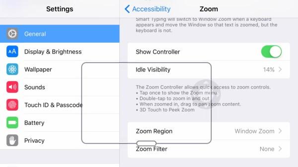 Peek en Zoom 3D Touch