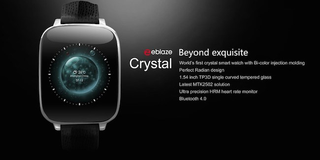 Zeblaze Crystal smartwatch compatible con iPhone [Review]