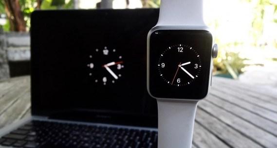 Protector de pantalla de Apple Watch en OS X