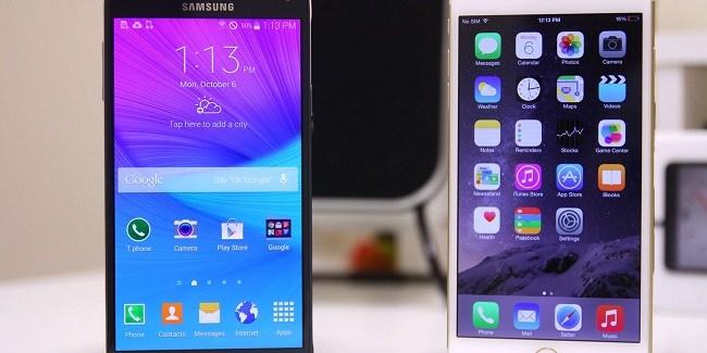 El iPhone 6s Plus con 2 GB de RAM fulmina al Galaxy Note 5 con 4 GB de RAM en una prueba real de velocidad