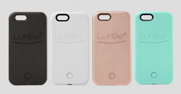 Fundas con luz LuMee, disponibles en diversos colores
