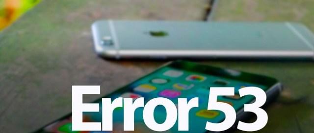 error-53-iphone 6