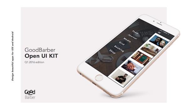 goodbarber Open UI Kit