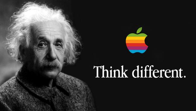Apple renueva el registro sobre el slogan Piensa Diferente