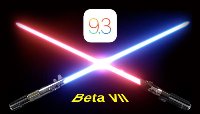 iOS 9.3 beta 7, la larga saga continúa