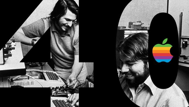 Apple cumple 40 años creando sueños