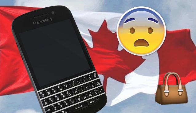 Blackberry tiene puerta trasera para la policía canadiense