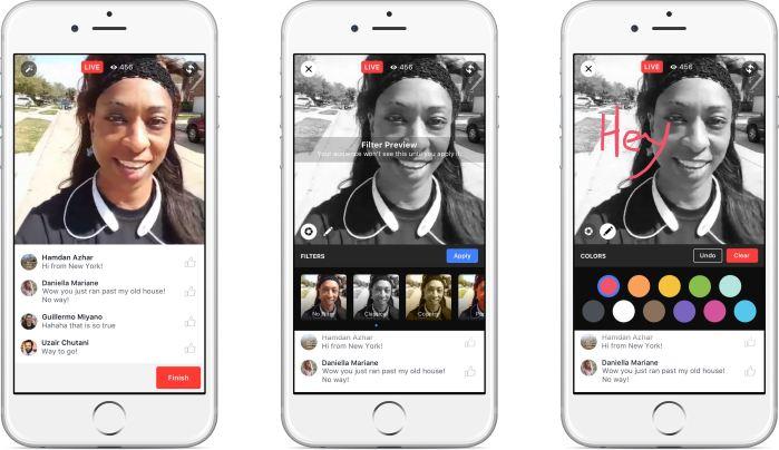 Facebook añade el botón de Directos a su app. Adiós mensajes
