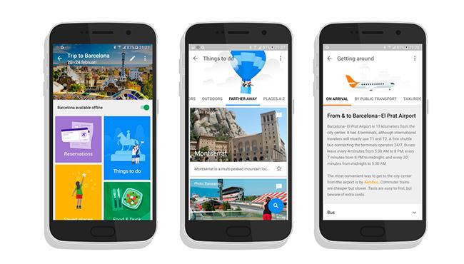 Conoce a Trips, el próximo asistente de viajes de Google
