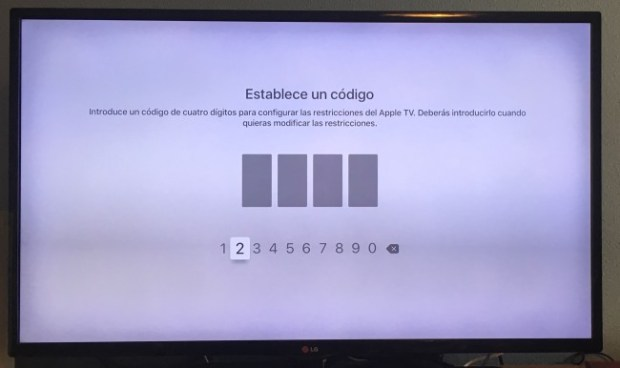 Restricciones Apple TV 2