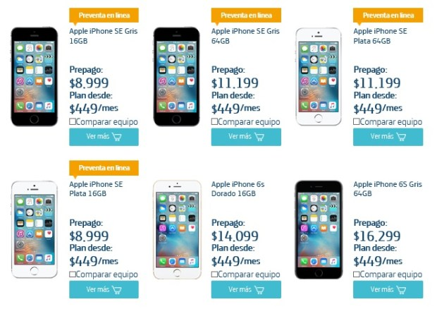 iphone se movistar