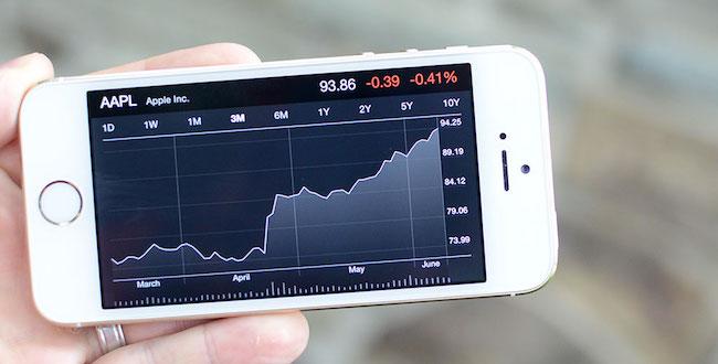 La mayor caída en bolsa de Apple en los últimos tres años