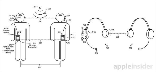 Los auriculares del iPhone podrían convertirse en walkie-talkies