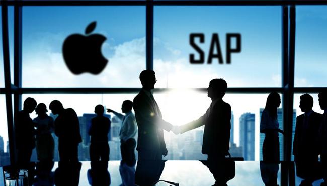 Apple y SAP unen sus caminos en el mundo empresarial