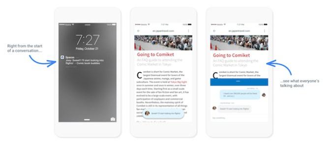 Google Space iOS 2