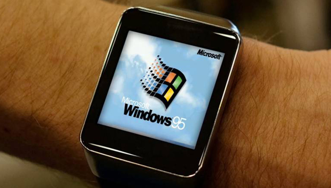 ¿Windows 95 en el Apple Watch? Es posible