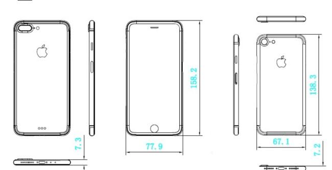iPhone 7 Plus ¿Pantalla sin marcos y de borde a borde?