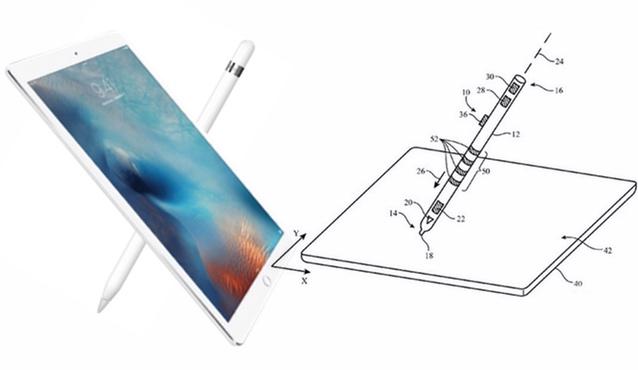 Apple patenta sensores táctiles para el Apple Pencil y el iPhone