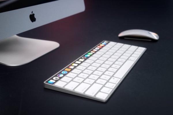 teclado imac keyboard tactil