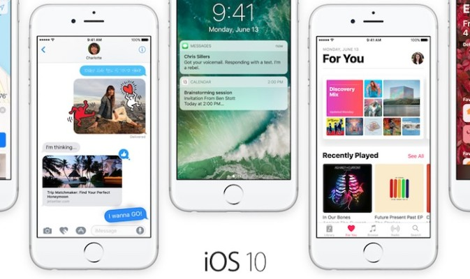 iOS 10 prioriza la descarga de aplicaciones desde iCloud