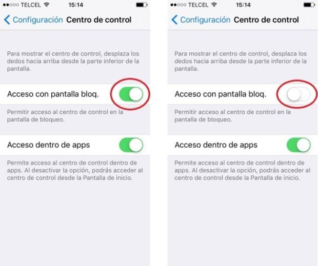 Centro de Control iOS 10_ 3