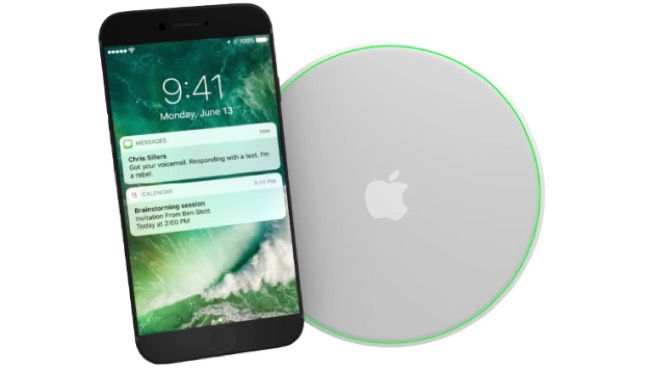 Increíble concepto del nuevo iPhone 7 con carga inalámbrica