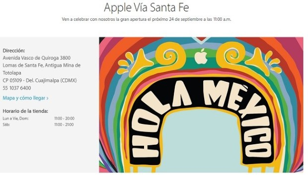 Apple via santa fe 24sep2016