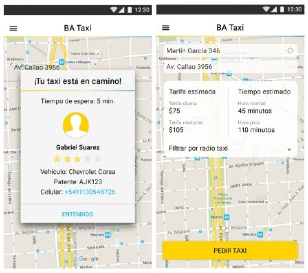 TaxiBA-BuenosAires-App