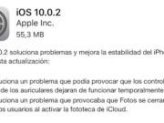 iOS 10.0.2 disponible para su descarga
