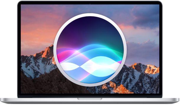 Usa Siri en Mac, lista de comandos que puedes utilizar