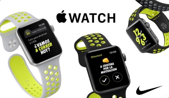 El Apple Watch Nike+ llegará el 28 de Octubre a las tiendas