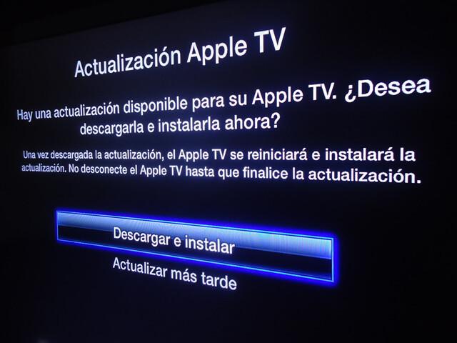 Actualización Apple TV