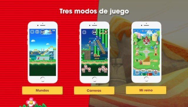 Super Mario Run - tre modos de juego