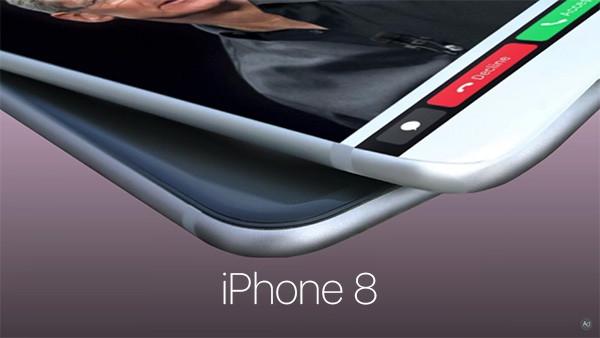 iPhone 8: Nuevo concepto con una Touch Bar como los MacBook Pro