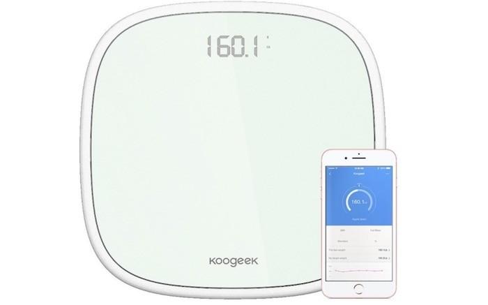 Bascula Digital Bluetooth 4.0 de Koogeek