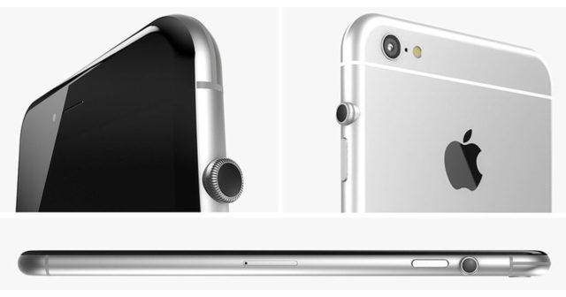 El iPhone heredaría la corona digital del Apple Watch