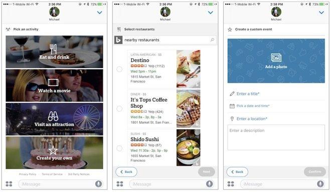Microsoft introduce Who's In, una red social para eventos en Mensajes de iOS