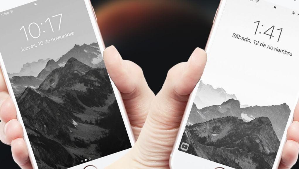 Pantalla de bloqueo iOS