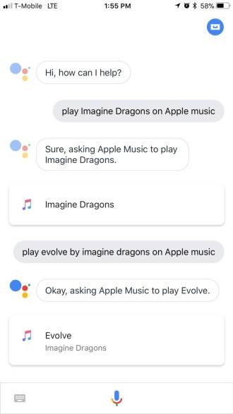 Utilizar Apple Music con Google Assistant