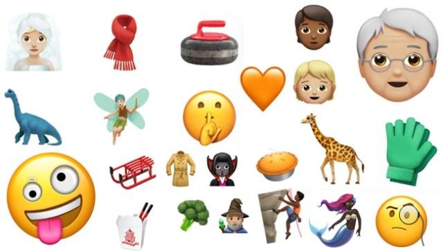 Nuevos emojis iOS 11.1