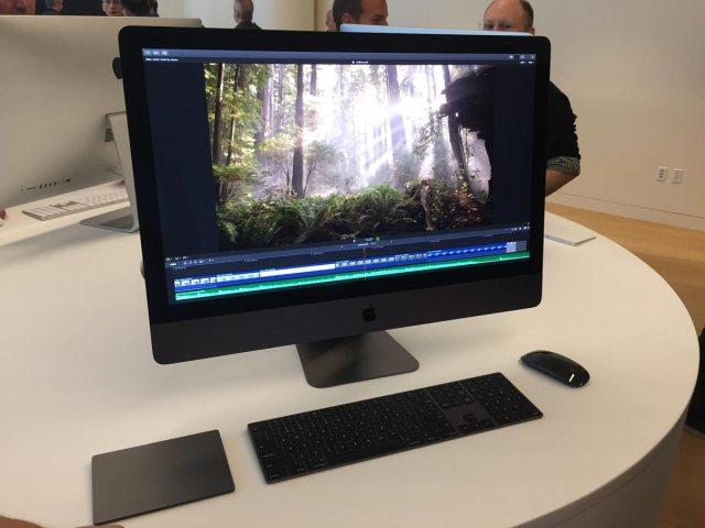 iMac Pro en la Final Cut Pro X Creative Summit