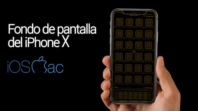 Fondo de pantalla del iPhone X
