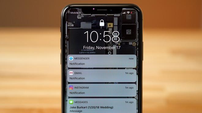 Cómo deshabilitar las notificaciones ocultas en iPhone X