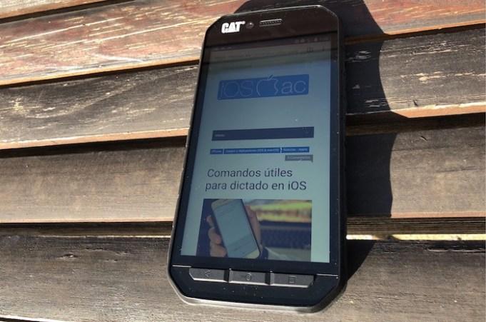 CAT S41 un smartphone muy resistente y con mucha bateria
